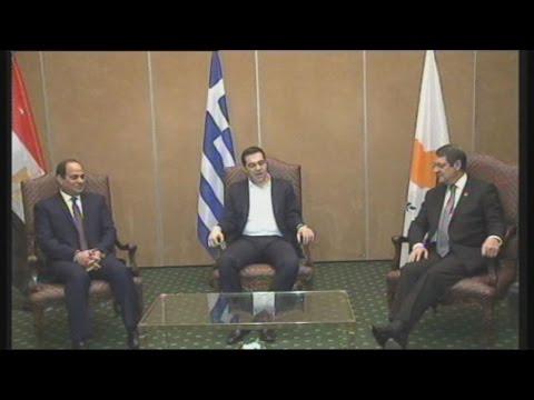 Τη Διακήρυξη της Αθήνας, υπογράφουν οι ηγέτες των τριών χωρών