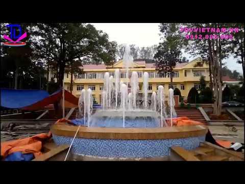 Thi Công Đài Phun Nước Bể Tròn Tại Cao Bằng | Công Ty TDV Việt Nam
