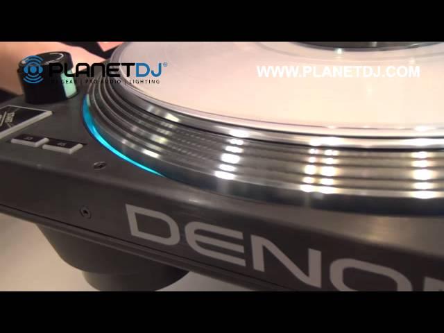 Denon DJ VL12 High Torque Professional DJ Turntable - NAMM 2016