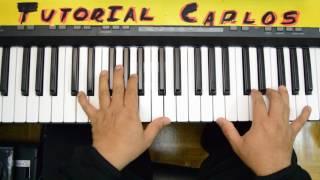 Mi vida esta llena de ti Roberto Orellana - Tutorial Piano Carlos