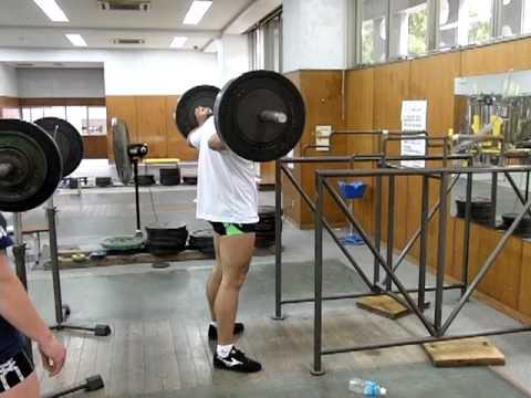 これが日本一の男!砲丸投日本記録保持者のウエイト