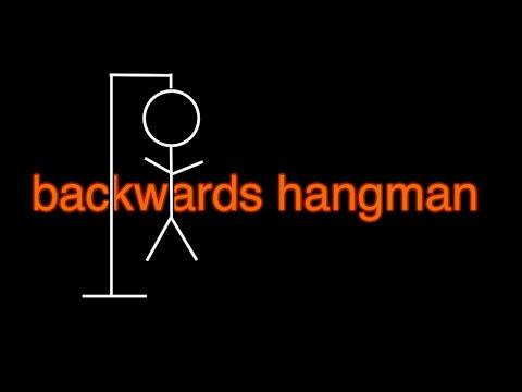 backwards hangman