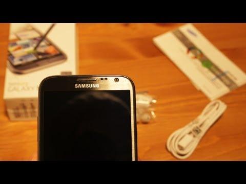 Samsung Galaxy Note II – Verarbeitung, Design und Lieferumfang [Teil1] Testbericht / Review