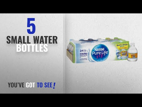 Best Small Water Bottles [2018]: Nestle Pure Life Water, 8 Oz (pack of 24)