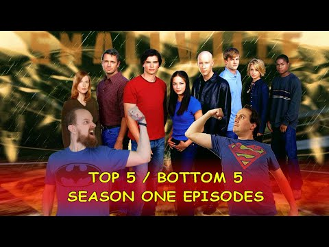 Smallville Season 1: Top 5 / Bottom 5 Episodes with Durbania