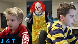 While Jake and Ty are playing a game a clown sneaks out of the closet and attacks them. Did you enjoy this video? Here are ...
