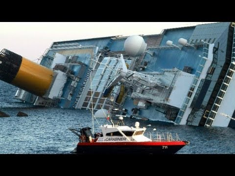cruise ship Italy - Cruise ship staff member Rosalyn Rincon describes the moment that her ship ran aground in Italy.