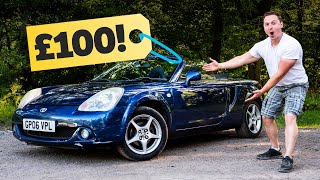 I Bought A Broken MR2 On Instagram For £100 by Car Throttle