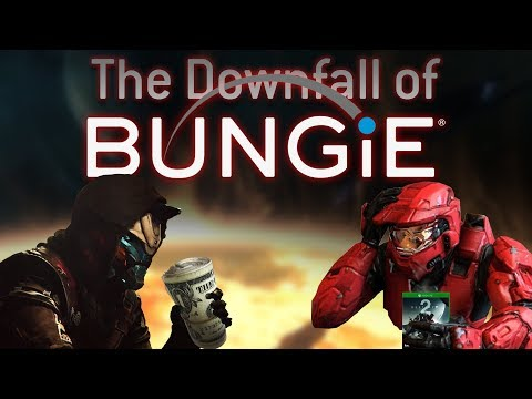 The Downfall of Bungie (Marathon, Halo, Destiny) | How Activision destroyed their Destiny