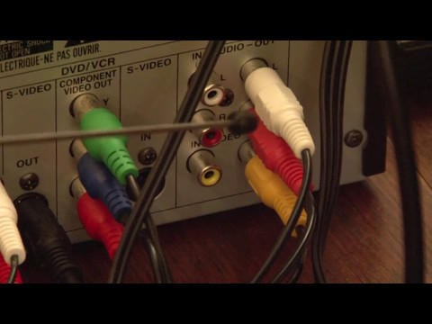 Combo recorder outputs - VHS transfer to DVD