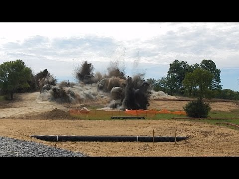 Blasting Property for a New Winery