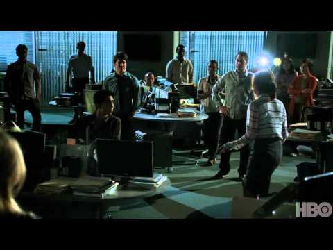 The Newsroom 1.09 (Clip 'Becoming a Team Again')
