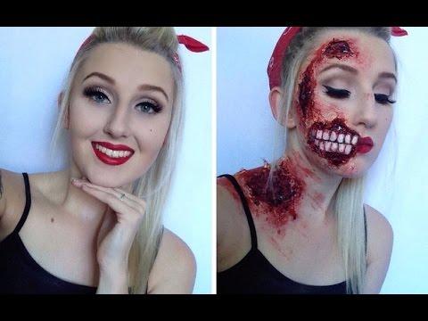 Si të dukemi si zombi për Halloween
