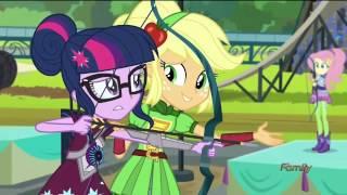 Mlp Equestria Girls   Friendship Games  Tricross Relay  2nd Event   Hd