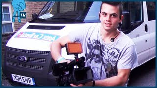 Janoskians - Skip's Camera Prank on MTV in the UK - Janoskians Takeover Ep 7