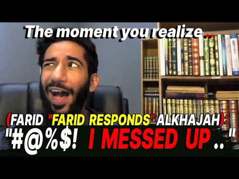 Farid Responds Caught Lying about The Holy Bible