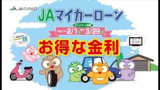JAマイカーローンキャンペーン(平成31年3月末まで)