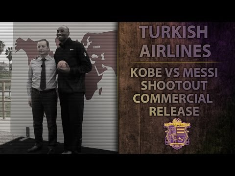 Video: Lakers Nation: Kobe Bryant & Turkish Airlines Commercial Press Release