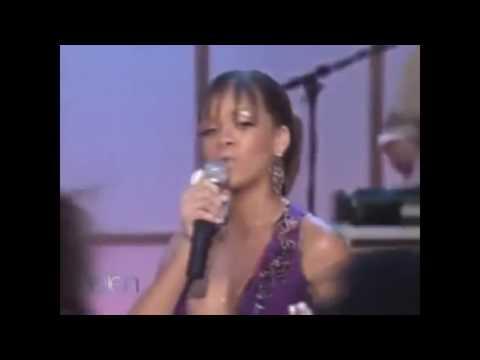 Rihanna - Pon De Replay (Live on The Ellen Show 2005)