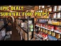 EPIC DEAL! 50% off Grid Down Food Storage | Wise Company 72 Hr Kit