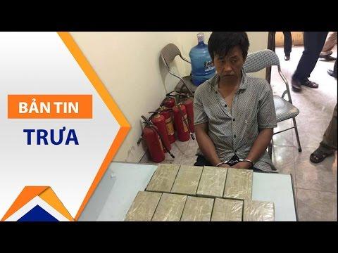 Bắc Ninh: Bắt đối tượng vận chuyển 9 bánh heroin | VTC1 - Thời lượng: 39 giây.