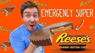 Emergency Super Reese's Peanut Butter Cup by  My Virgin Kitchen