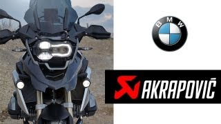 5. BMW R 1200 GS LC (2013) Akrapovic Sport Exhaust Sound & Acceleration Test