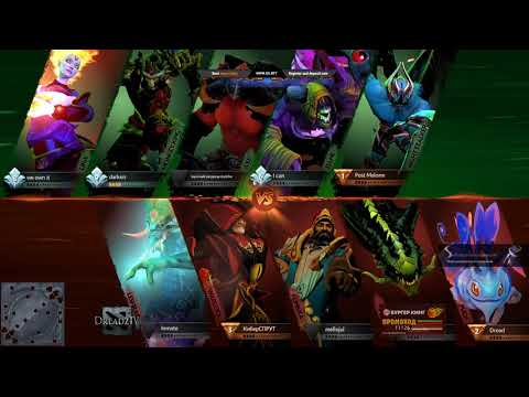 Dread's stream | Dota 2 - Battle Cup | 02.06.2018