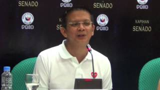 Escudero: Only an administration is capable of cheating