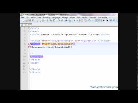 document.ready function in jQuery