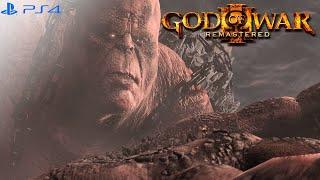 God of War 3 : Kratos Vs. Cronos Boss Battle Chaos Mode Hardest Difficulty