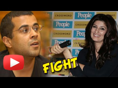 Chetan Bhagat And Twinkle Khanna Get Into A Fight