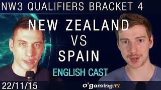 New Zealand vs Spain - NationWars III - Qualifiers Bracket 4 - Match 2 [EN]