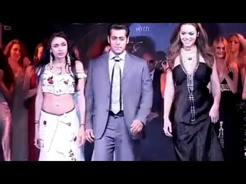 When Salman Khan Walked The Ramp With Miss Univers