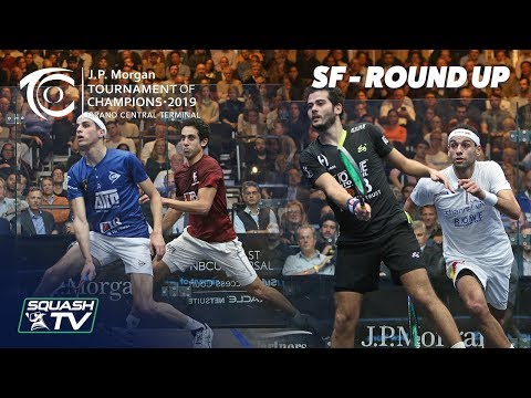 Squash: Tournament of Champions 2019 - Men's SF Roundup