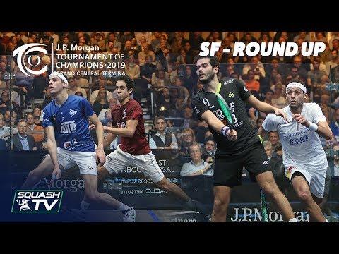 Squash: Tournament of Champions 2019 - Men's SF Roundup