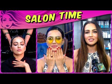 Sana Khan Gives Us HAIR CARE And STYLING Tips | Sa