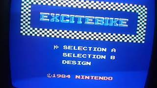 Excitebike: Track 1 (NES/Famicom) by omargeddon