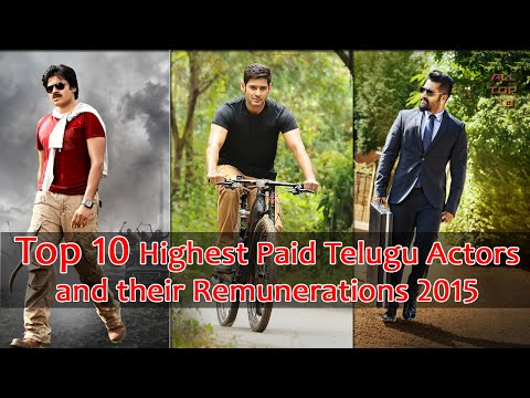 Top 10 Highest Paid Actors In Tollywood 2015