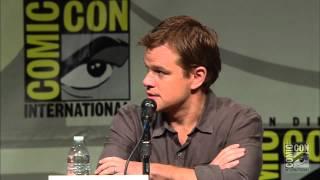 Comic Con 2012 - 'Elysium' Panel 1 of 2