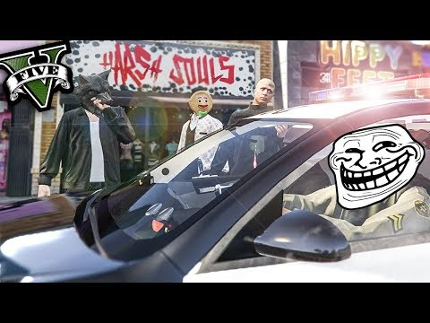 GTA 5 RP - HEAD ADMIN / POLICE TROLLS ME HARD - GTA V Funny Roleplay