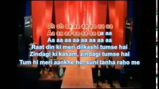 Video kabhi sham dhale to karaoke Sur MP3, 3GP, MP4, WEBM, AVI, FLV Juni 2018