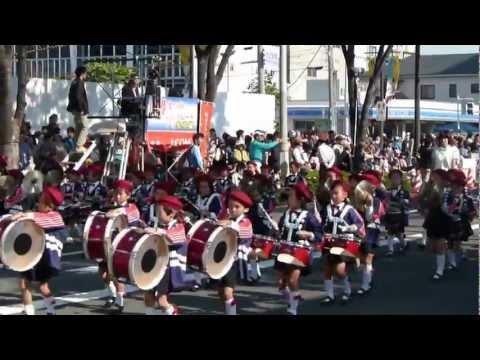 2012年堺まつりパレード(33)宝珠学園幼稚園幼年消防クラ