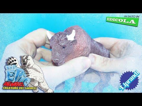 DIRAMIX - EPIC ANIMALS CREATURE DEI GHIACCI - UN SALTO IN EDICOLA RECENSIONE (видео)