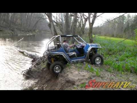 Polaris RZR Creek Climbing - Super ATV