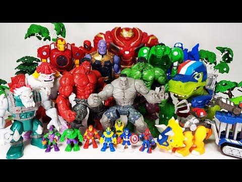 Thanos & The Villains are Coming~! Go Avengers, Hulk, Spider Man, Iron Man