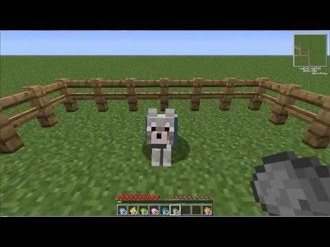 Minecraft-  Dare il colore al collare del cane  (Minecraft wolf collar dye)
