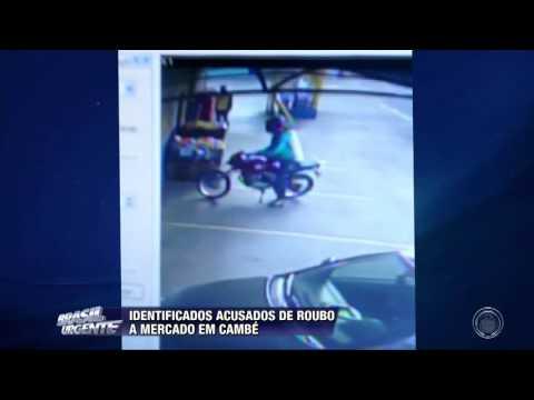 Acusados de roubo a mercado em Cambé são identificados