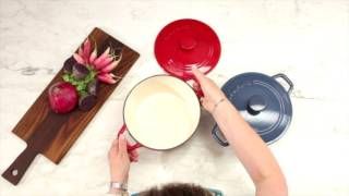 3 Quart Round Covered Casserole Demo Video Icon