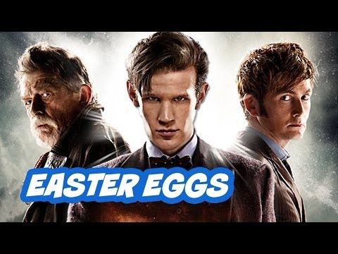anniversary - Doctor Who 50th Anniversary Episode Easter Eggs - Part 1. Hidden references from The Day Of The Doctor. Plus Peter Capaldi 14th Doctor details. ▻ http://bit....